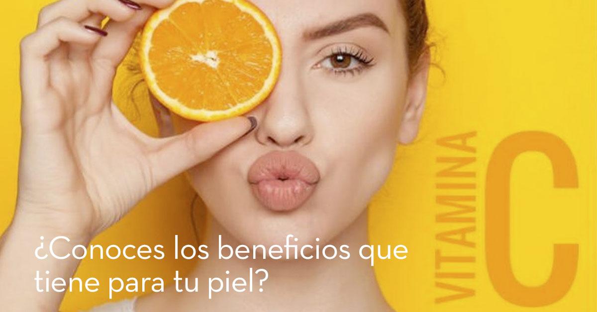 Serum con vitamina C para tu piel