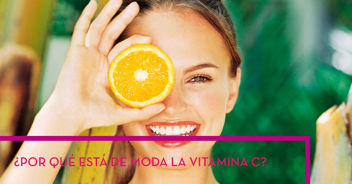 ¿Por qué está de moda la vitamina C?