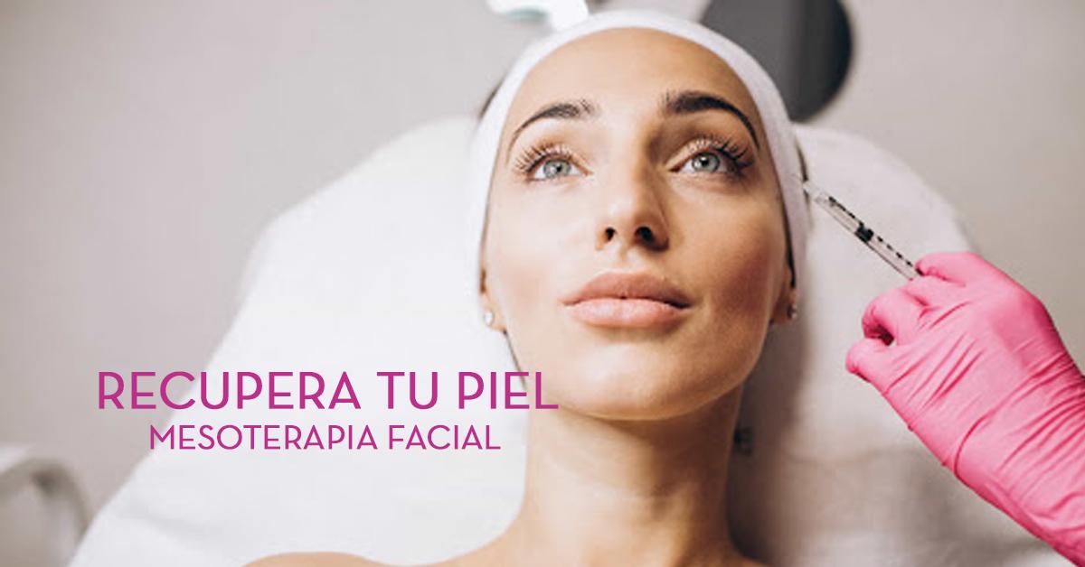 Recuperar la piel tras el verano con mesoterapia facial