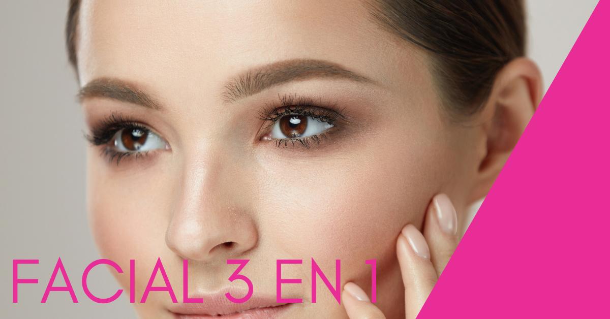 tratamiento facial 3 en 1 geneo